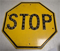 Rare Stop Sign Glass Marbles
