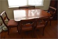 Mahogany Table & Chairs