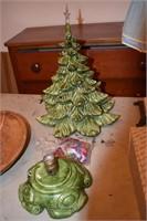 Porcelain Christmas Tree