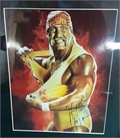 Hulk Hogan photo w/ facsimile autograph   Allen's Auction Centre Ltd.