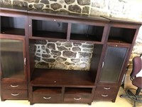 Good Oak And Mixed Wood Entertainment Center