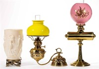 Wide variety of lighting including Aladdin Dancing Ladies electric lamp