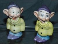 Assorted Disney Bisque/Porcelain Figurine Lot