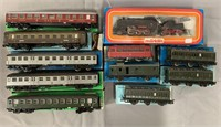 Assorted Boxed Vintage Marklin HO Trains