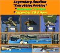 "Nov 7 ~ Legendary Auction ""Everything Hunting"""