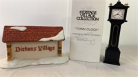 Dickens Village sign and Heritage Village