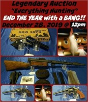 """Legendary """"Everything Hunting"""" Auction- Dec 28"""