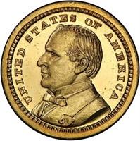 G$1 1903 LA PURCHASE. MCKINLEY. PCGS PR67 CAM