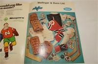 Binder--Upper Deck 1994 Wayne Gretzky Kings Card