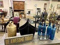 Retail Returns & Salon Auction