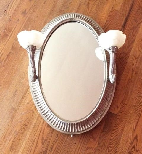 Mirror With 2 Electric Side Lights, Electric Mirror Llc Catalog