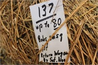 Hay, Bedding,  Firewood Auction #12 (3/18/2020)