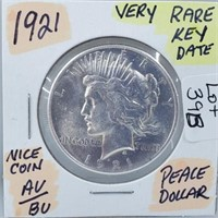 Silver, Rare & Graded Coin Auction ONLINE ONLY Thurs 4/2