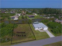 Canalfront Lot in South Gulf Cove on Burwell Circle