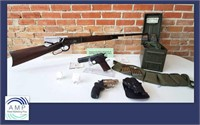 Guns Ammo Knives ad Coins Online Auction