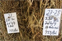 Hay, Bedding & Firewood Auction #20 (5/13/2020)