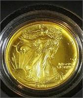 2016 1/2 oz Gold Walkiing Liberty