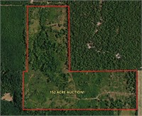 152 Acre - Recreational Land, Red River Co. TX