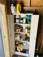 """Metal cabinet in Shed, 24"""" wide x 12"""" deep x 63""""h"""
