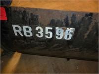 3pt. Land Pride RB 3596 Blade