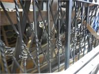 Wrought Iron Porch Rail