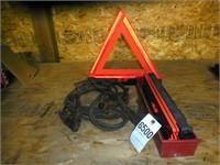 Jumper Cables & Road Triangles