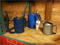 1,2 & 4 quart Oil Can