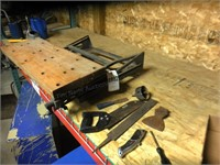 Wood Work tools & vice Bench