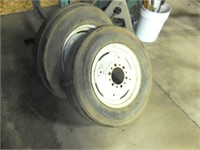 Pair of 6.00 X16 Tractor Front tires