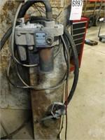 Approx 100 Gal Fuel Cell w/ elec Pump & Nozzle