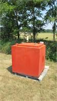 Double Wall Hydraulic Oil Tank w/ Pump & Gauge