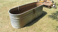 "69"" Galvanized Water Tank w/ Electric Tank Heater"