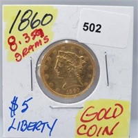 Gold & Silver Coins and Jewelry Auction! Thursday 7/23 6 pm