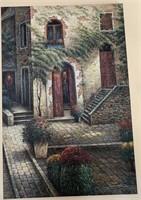 21 - BEAUTIFUL SIGNED FRONT DOOR WALL ART