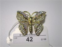 Marilyn Randall Jewelry Auction #1  - Butterfly pins