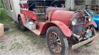 Primitives, Antiques, Farm Antiques, Fire Truck, 70 Mustang