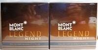 2 MONT BLANC LEGEND NIGHT PARFUM 50ML