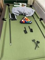C - CLASSIC GREEN SPORT BILLARDS/PING PONG TABLE