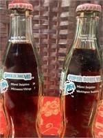 SUPER BOWL CHAMPIONS MIAMI DOLPHINS COKE BOTTLES