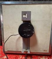 N - VINTAGE PEPSI:COLA SQUARE WALL CLOCK