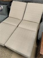 NEW DOUBLE WIDE PATIO LOUNGERS -SEE PICS FOR COND.