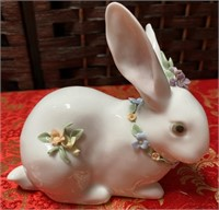 N - PAIR OF 2 LLADRO'S ANGLE W/BABY & BUNNY