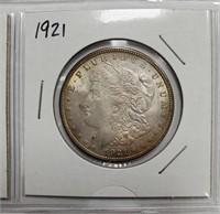 LOT OF FOUR 1921 SILVER MORGAN DOLLARS (2)