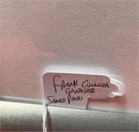 N - SIGNED FRAMED FRANK CULLOTTA GANSTER PHOTO