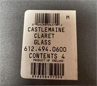 11 - WATERFORD CRYSTAL SET OF 4 WINE GLASSES