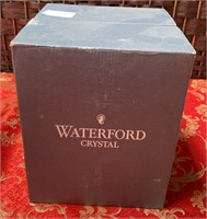 11 - WATERFORD CRYSTAL SET OF 4 WINE GLASSES W/BOX