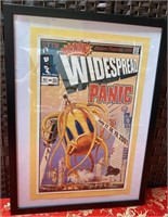 N - WIDESPREAD PANIC COMIC POSTER FRAMED