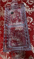 N - WATERFORD CRYSTAL CANDY DISH