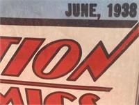 N - VINTAGE BEATLES POP OUTS & SUPERMAN COMIC