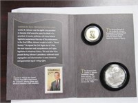 2015 Coin and Chronicles Set Johnson